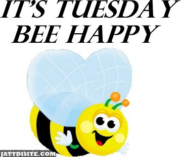 Its Tuesday Be Happy