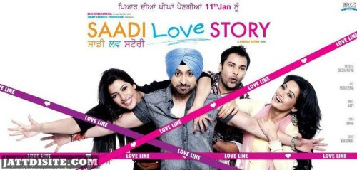 Movie POster Amrinder Gill And Diljit
