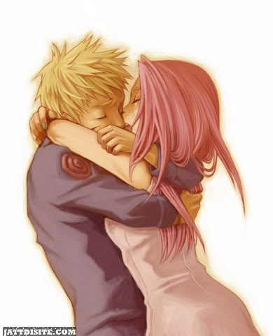 Naruto And Sakura Kissing