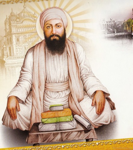 Sitting-Pose-Of-Shree-Guru-Angad-Dev-Ji