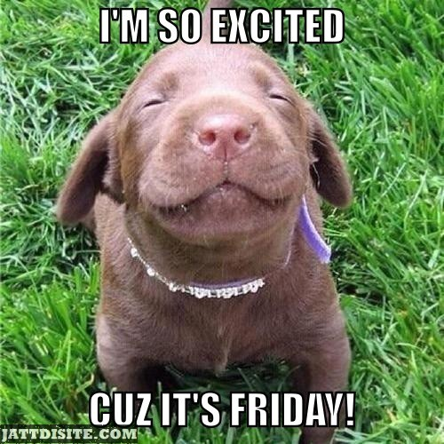 So Excited Its Friday