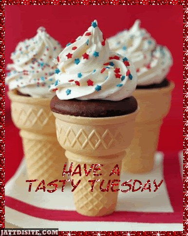Tasty Tuesday With Ice Creams