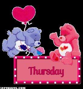 Teddy Couple In Thursday