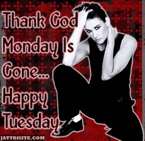 Thank God Monday Is Gone
