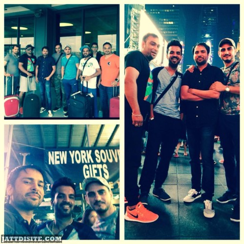 Tour Pic Of Amrinder Gill