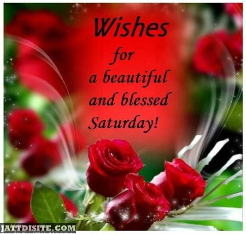 Wishes For Blessed Saturday