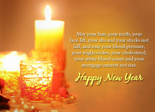 Awesome New Year Greeting Card