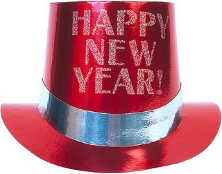 Happy New Year Clipart red cap