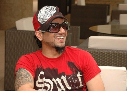 Jazzy B Wearing Cap