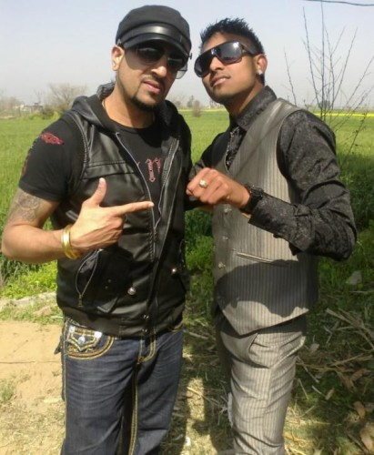 Jazzy B With His Fan