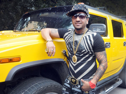 Jazzy B With Hummer Car