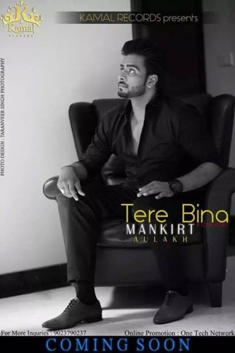 Mankirat Aulakh In Black Kurta Pajama