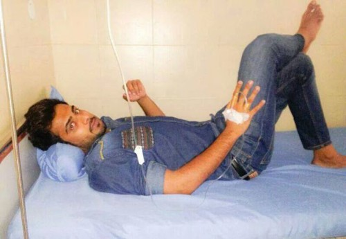 Mankirat Aulakh In Hospital