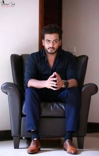 Mankirat Aulakh On Couch