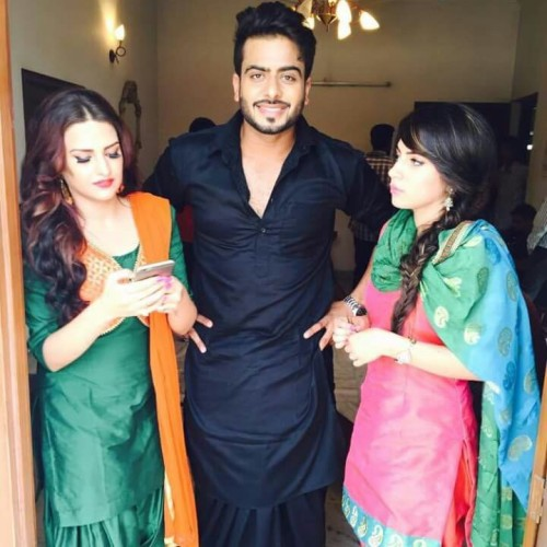 Mankirat Aulakh On The Shoot Of Song
