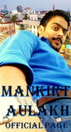 Mankirat Aulakh Taking His Selfie