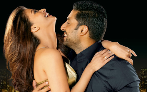 Abhishek With His Beautiful Wife