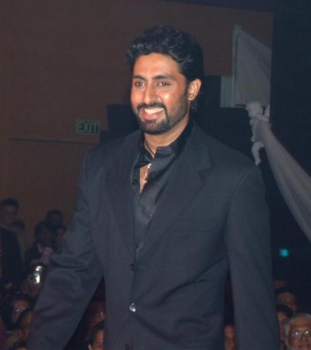 Bollywood Star Abhishek Bachchan