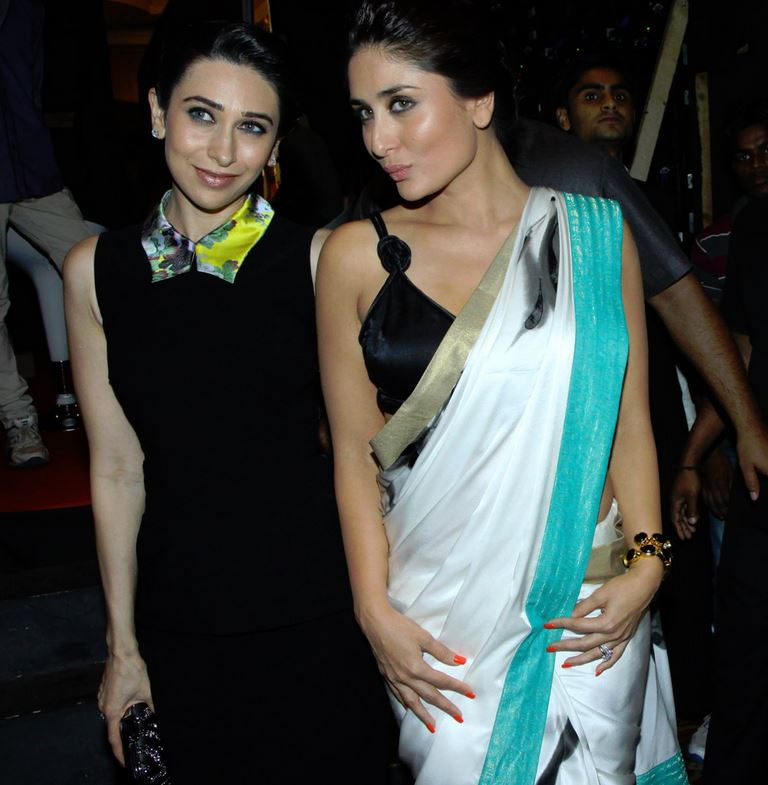 Kareena Kapoor and Karishma Hot Together