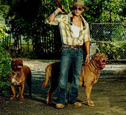 Salman Khan Posses With His Dogs