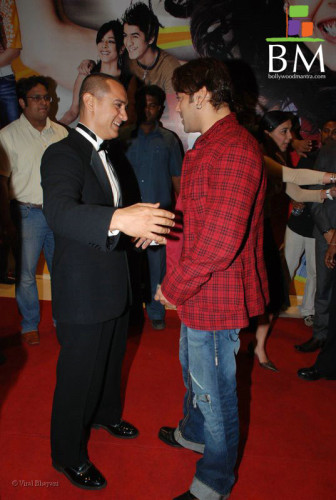 Salman With Aamir Khan