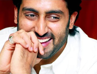 Smiley Pose OF Abhishek Bachan