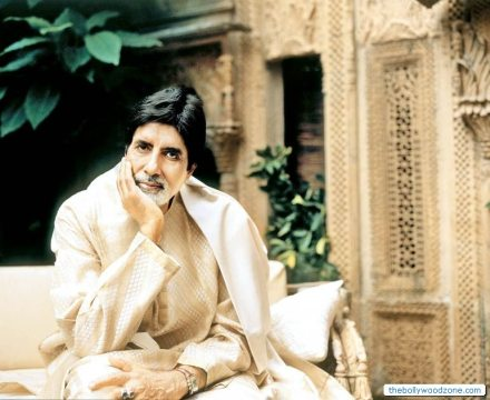 Amitabh Bachchan Giving A Picture