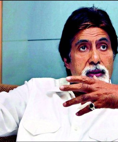 Amitabh Bachchan In White
