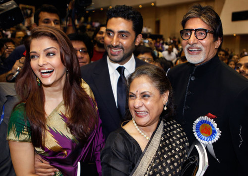 Amitabh Bachchan With His Whole Family