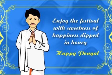 Enjoy The Festival With Sweetness Of Happiness Dipped In Honey Happy Pongal