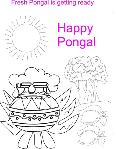 Fresh Pongal Is Getting Ready Happy Pongal
