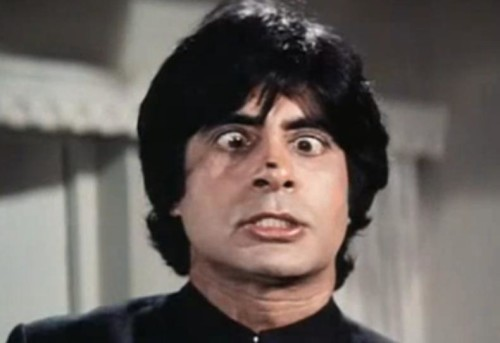 Funny Picture Of Amitabh Bachchan