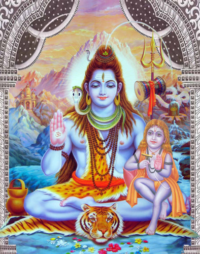 God Shiva With Baba Balak Nath