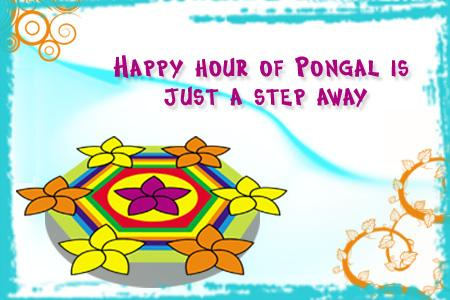 Happy Hour Of Pongal Is Just A Step Away
