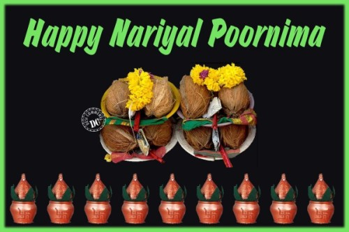 Happy Nariyal Poornima Thali
