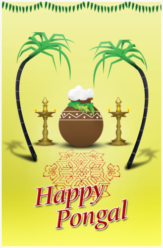 Happy Pongal Wishes To You