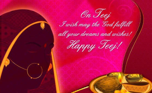 Happy Teej Picture