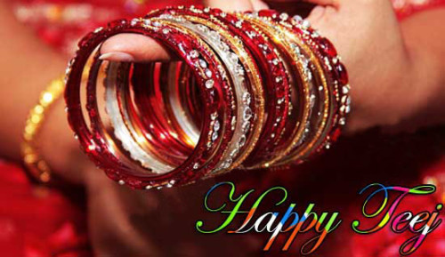 Happy Teej Woman's Festival