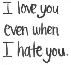 I Love You Even When I Hate You