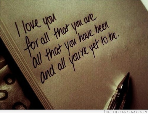 I Love You For All