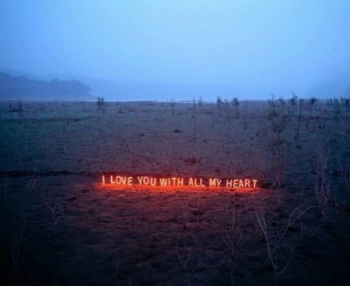I Love You With All My Heart Lighting