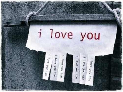 I Love You With Beautiful Hanging