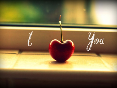 I Love You With Cherry