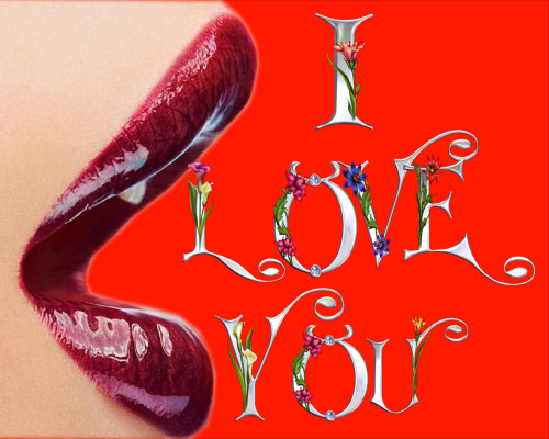 I Love You With Girls Lips