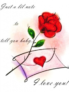 I Love You With Rose