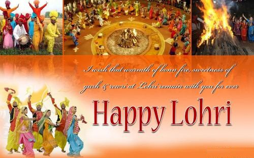 I Wish That Warmth Of Bonnfire Sweetness Of Gurh & Rewri Lohri Remain With You For Ever Happy Lohri