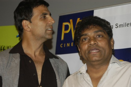 Johnny Lever With Akshay Kumar In A Event