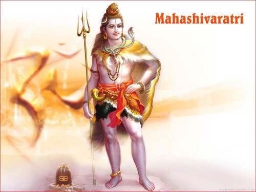 Mahashivaratri Greetings Lord Shiva Graphic