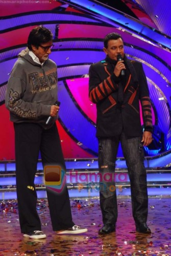 Mithun Chakraborty With Big B