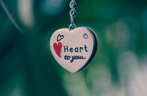 Pendant Chain Heart Love